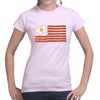 American Bacon Flag Women's T-Shirt