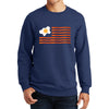 American Bacon Flag Sweatshirt