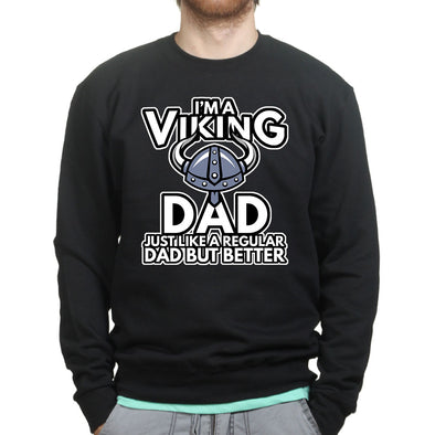 Viking Dad Sweatshirt - Fretshirt.com
