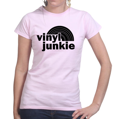 Record Album Vinyl Junkie Women's T-Shirt
