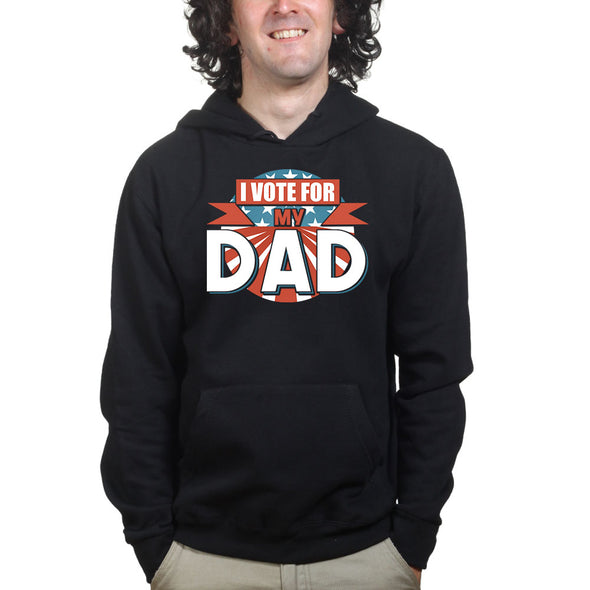 Vote For Dad Hoodie - Fretshirt.com