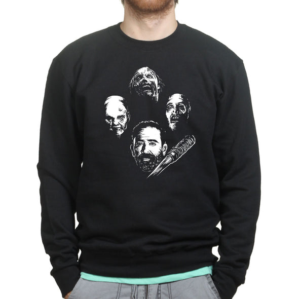 The Walking Rhapsody Sweatshirt, [product_type) - Fretshirt.com