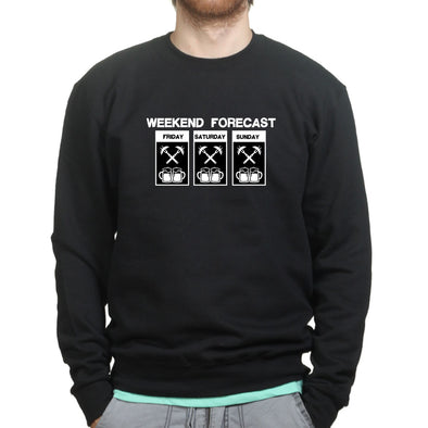 Weekend BBQ Forecast Sweatshirt