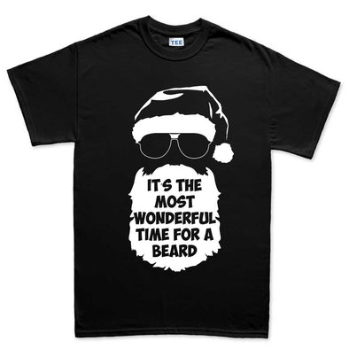 Wonderful Time For A Beard T-Shirt - Fretshirt.com