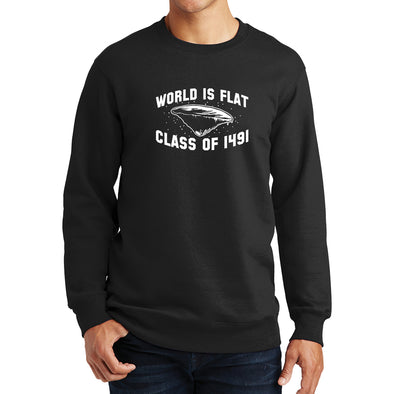 World Is Flat Class Of 1491 Sweatshirt