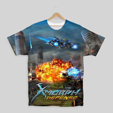 X-Morph Defense Tank Attack All Over Print T-shirt
