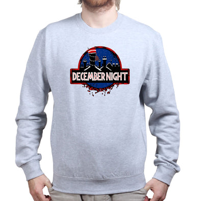 Xmas Night Jurassic Sweatshirt