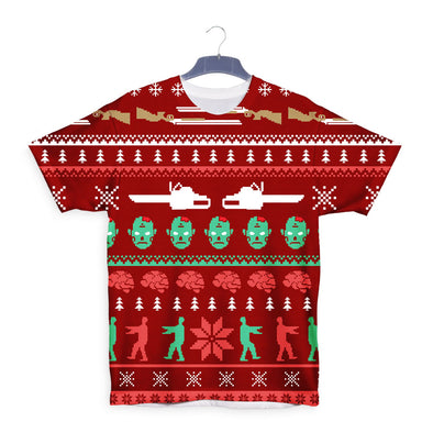 Zombie Ugly Sweater T-Shirt - Fretshirt.com