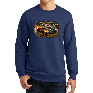 Zombie Driver - Blood Race Sweatshirt, [product_type) - Fretshirt.com