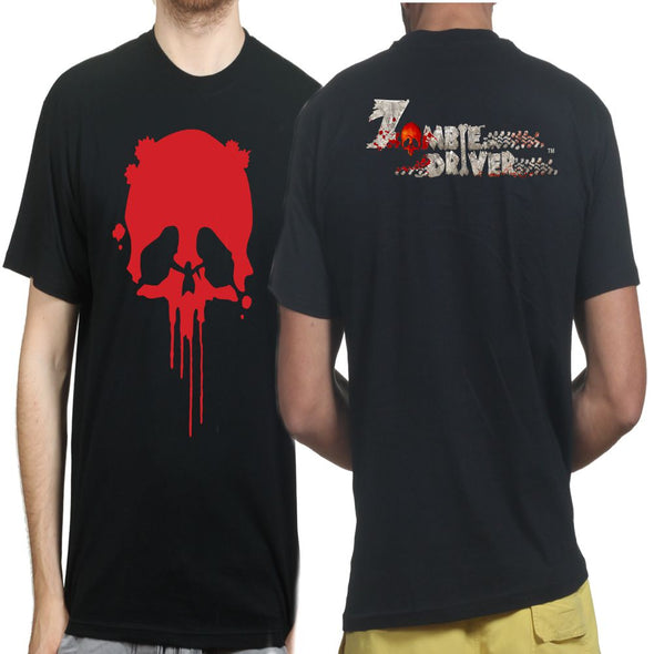 Zombie Driver - Skull - Double Sided T-Shirt, [product_type) - Fretshirt.com