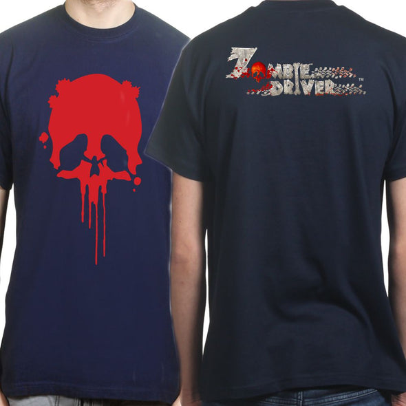 Zombie Driver - Skull - Double Sided Kid's T-Shirt, [product_type) - Fretshirt.com