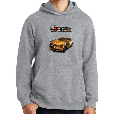 Zombie Driver - Taxi Side Hoodie, [product_type) - Fretshirt.com