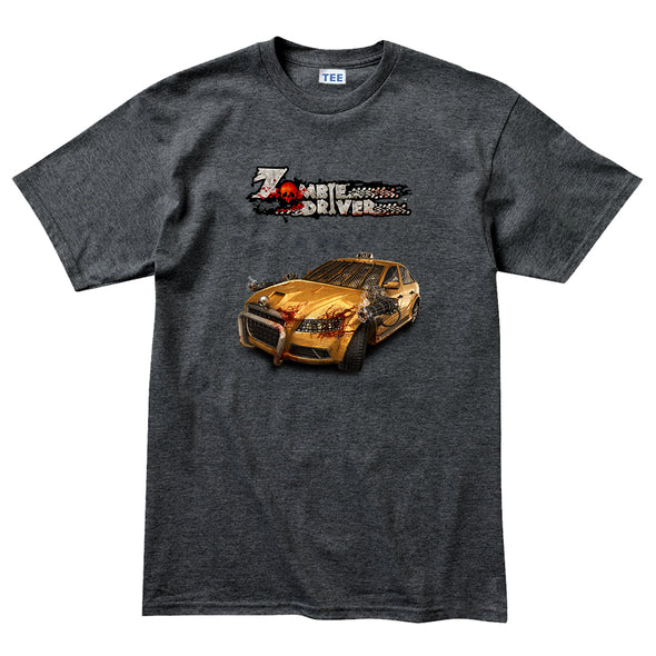 Zombie Driver - Taxi Side T-Shirt, [product_type) - Fretshirt.com