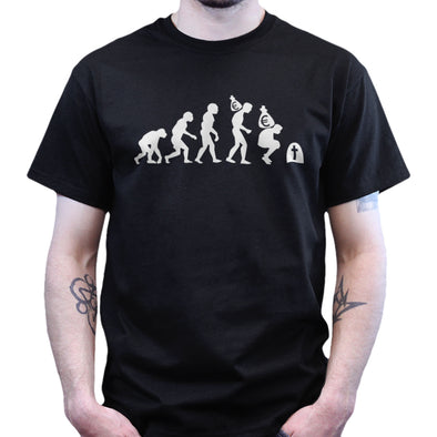 De-Evolution of EURO currency T-shirt - Fretshirt.com