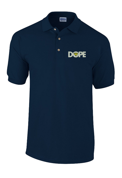 Dope Diamond Swag embroidered Polo Shirt - Fretshirt.com