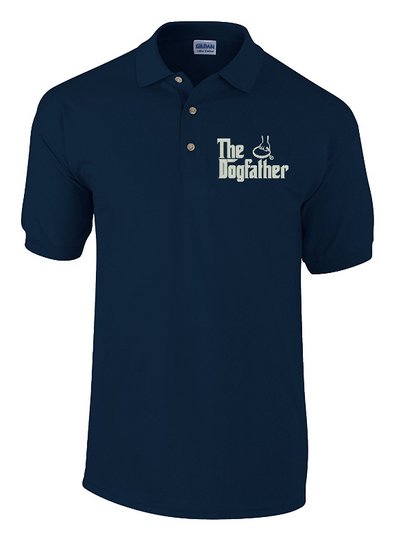 The Dog Father Embroidered Polo Shirt - Fretshirt.com