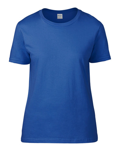 Blank Women's T-shirt - Royal Blue, [product_type) - Fretshirt.com
