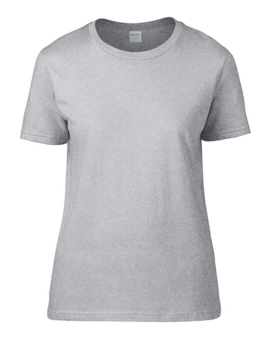Blank Women's T-shirt - Sports Grey, [product_type) - Fretshirt.com