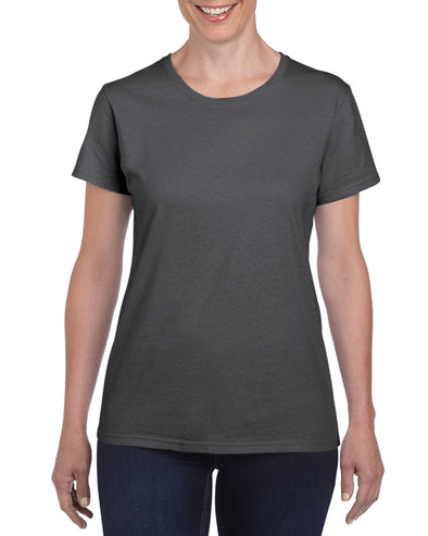 Blank Women's T-shirt - Dark Heather Grey, [product_type) - Fretshirt.com