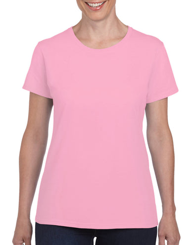 Blank Women's T-shirt - Pink, [product_type) - Fretshirt.com