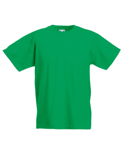 Blank Kid's T-shirt - Irish Green - Fretshirt.com