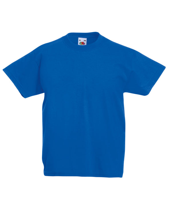 Blank Kid's T-shirt - Royal Blue - Fretshirt.com