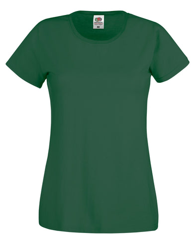 Blank Women's T-shirt - Forest Green, [product_type) - Fretshirt.com
