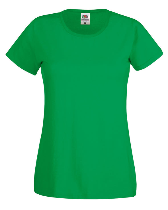 Blank Women's T-shirt - Irish Green - Fretshirt.com