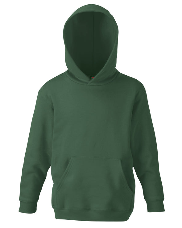 Blank Kid's Hoody - Forest Green