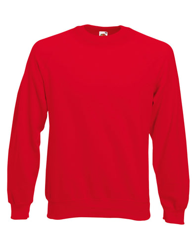 Blank Men's Sweatshirt - Red - Fretshirt.com