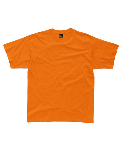 Blank Kid's T-shirt - Orange - Fretshirt.com