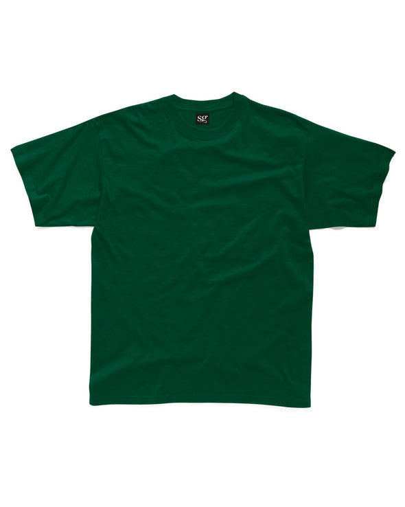 Blank Men's T-shirt - Forest Green - Fretshirt.com