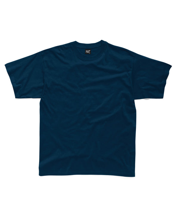Blank Men's T-shirt - Navy - Fretshirt.com