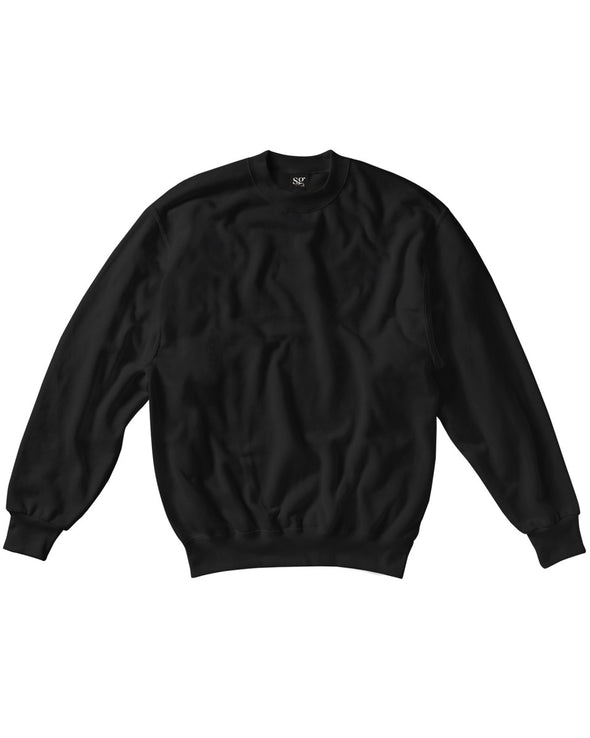 Blank Kid's Sweater - Black - Fretshirt.com