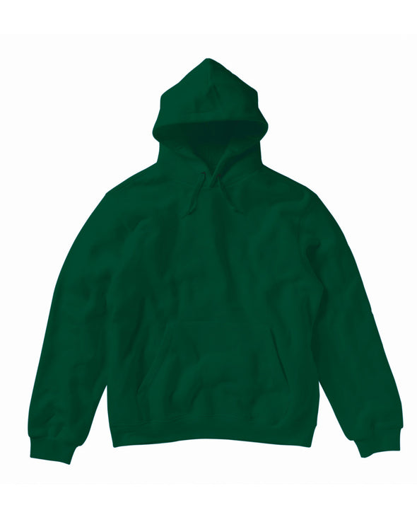 Blank Men's Hoody - Forest Green - Fretshirt.com
