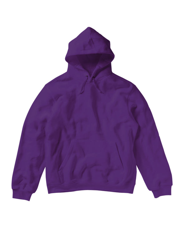 Blank Men's Hoody - Purple, [product_type) - Fretshirt.com