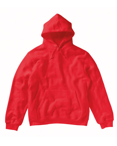 Blank Men's Hoody - Red - Fretshirt.com