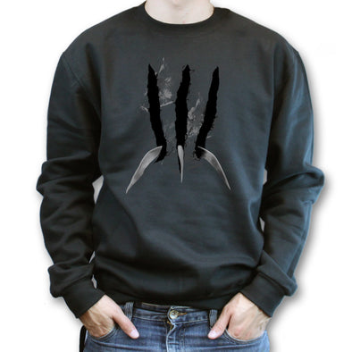 The Wolverine Claws Slicing Sweatshirt, [product_type) - Fretshirt.com