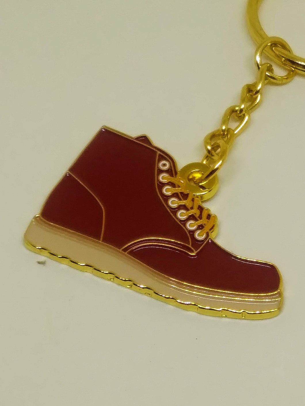 Red Wing Style Heritage Boot Keyring
