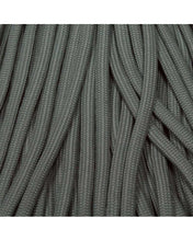 Gray Boot Laces *Guaranteed for Life* 550 Paracord Steel Tip