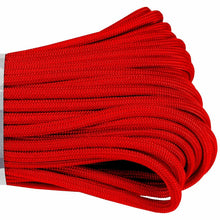 Red Boot Laces *Guaranteed for Life* 550 Paracord Steel Tip Shoelaces - Mad Dog Laces