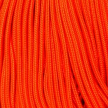 Neon Orange Boot Laces *Guaranteed for Life* 3mm Paracord Steel Tip Shoelaces