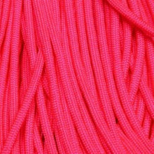 Neon Pink Boot Laces *Guaranteed for Life* 550 Paracord Steel Tip - Mad Dog Laces