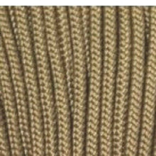 Coyote Brown Boot Laces *Guaranteed for Life* 3mm Paracord Steel Tip Shoelaces