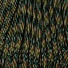 Woodland Camo Boot Laces *Guaranteed for Life* 550 Paracord Steel Tip