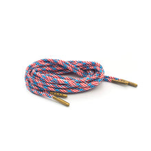 American Flag Boot Laces *Guaranteed for Life* 550 Paracord Steel Tip