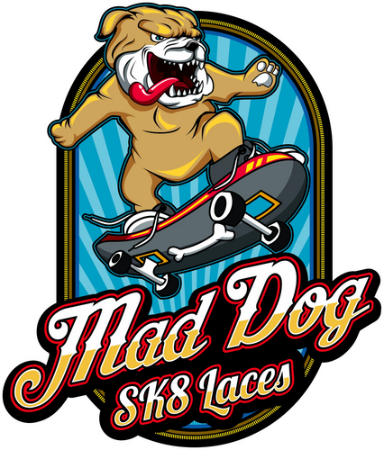 Skateboard Laces - Mad Dog Laces
