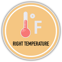 Right Temperature for cleaning