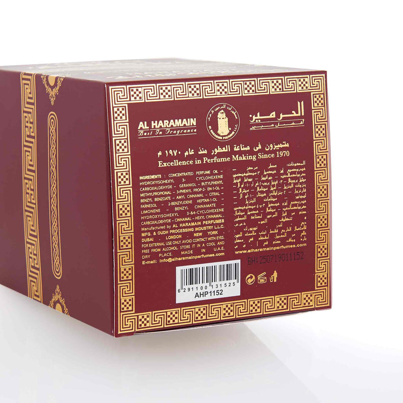 Al Haramain Attar Al Kaaba Concentrated Perfume Oil - Ingredients
