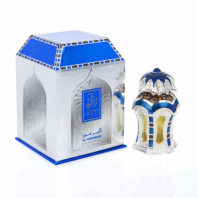 Al Haramain Rafia Silver Concentrated Perfume Oil - Main